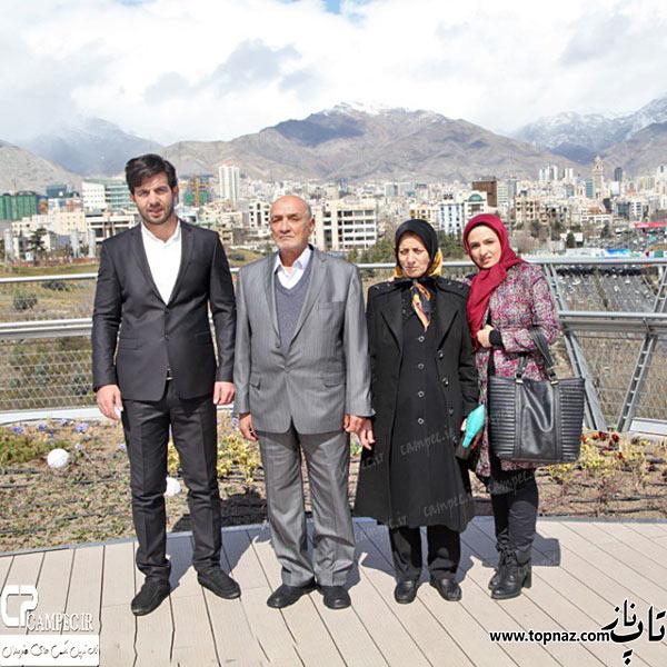 عکس خانوادگی گلاره عباسی
