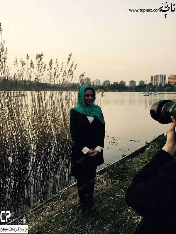 گلاره عباسی در خارج
