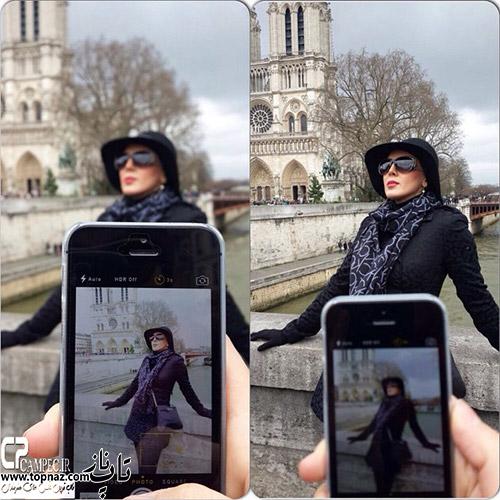 عکس های لیلا بلوکات با ظاهر و تیپ متفاوت در خارج