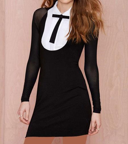 مدل لباس مجلسی کوتاه برند Nasty Gal