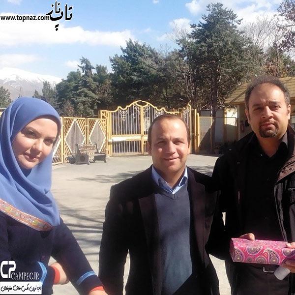 نیلوفر امینی فر مجری ایرانی