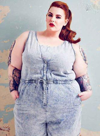 عکس سوپر مدل چاق ولی زیبا