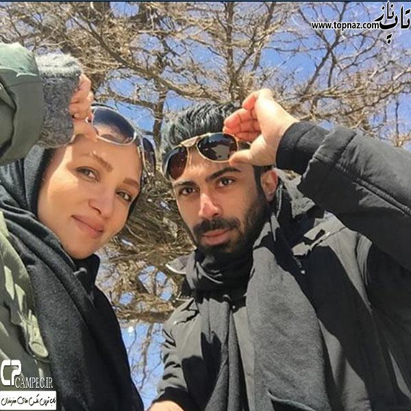 عکس روناک یونسی و همسرش 94