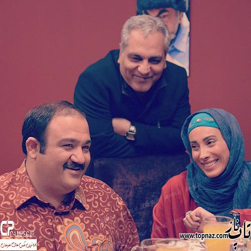 سحر زکریا بازیگر سریال در حاشیه