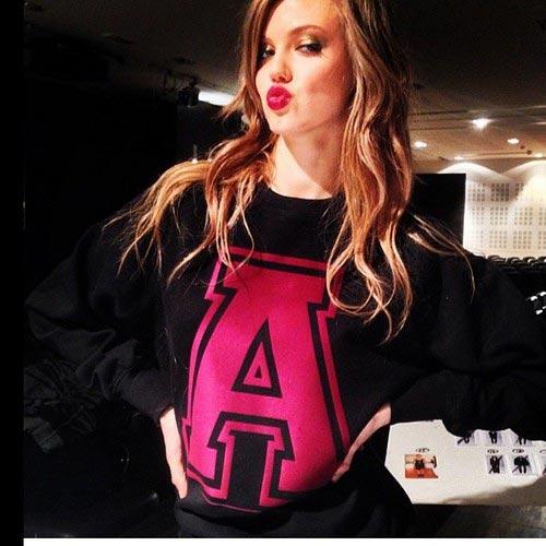 عکس دختر زیبا سوپر مدل