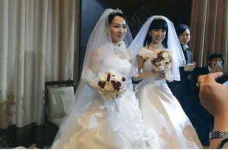 دو بازیگر زن همجنس گرای ژاپنی ازدواج کردند