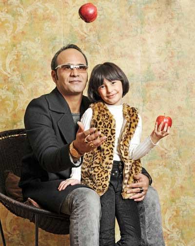 شهرام شکوهی و دخترش
