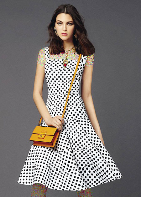 مدل لباس دی اند جی 2015,پیراهن های تابستانی دی اند جی 2015
