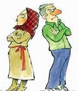 مقایسه خصوصیات زنان و مردان