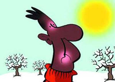 راه های درمان آفتاب سوختگی , درمان خانگی آفتاب سوختگی