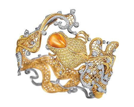 مدل جواهرات و زیورآلات برند لاری
