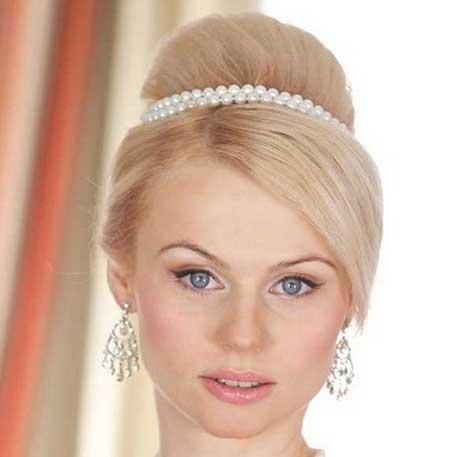 جدیدترین و زیباترین مدل آرایش مو و چهره عروس