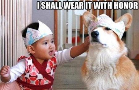 عکس های خنده دار و بامزه کودکان