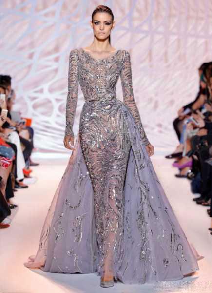 مدل لباس مجلسی دانتل 2015 - پیراهن بلند مجلسی شیک