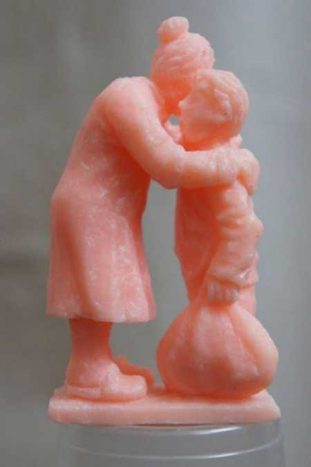 مجسمه صابونی