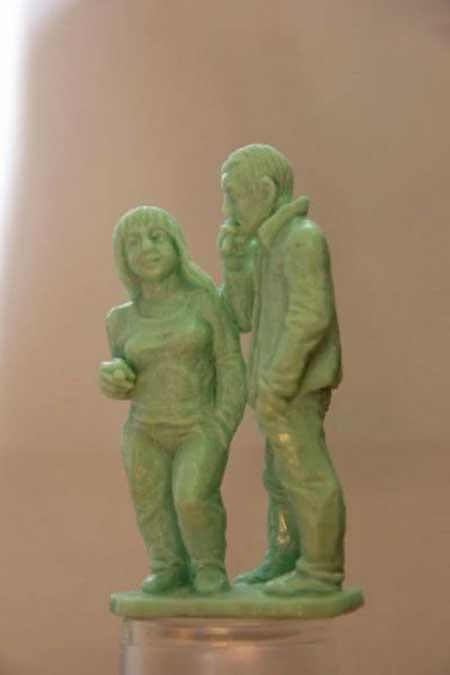 عکس های جالب از مجسمه های صابونی!