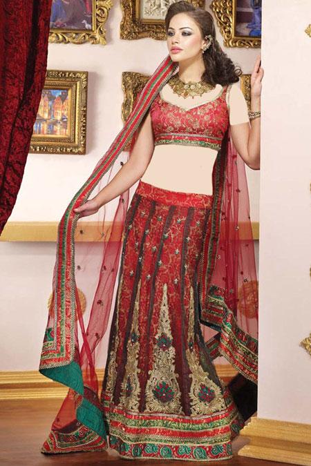 بلوز بلند حریر زیباترین مدل های لباس هندی 2015