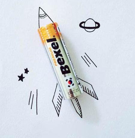 ع تی برای طراحی عکس های خنده دار و جالب نقاشی ترکیبی