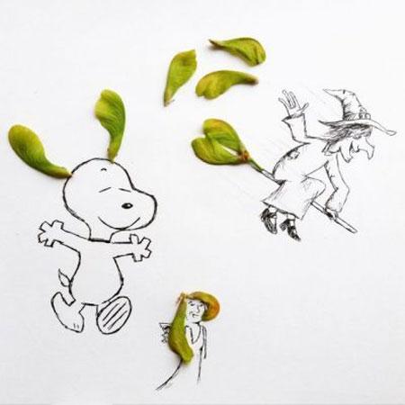 عکس های خنده دار و جالب نقاشی ترکیبی