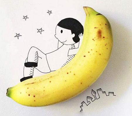 ع  دار عکس های خنده دار و جالب نقاشی ترکیبی