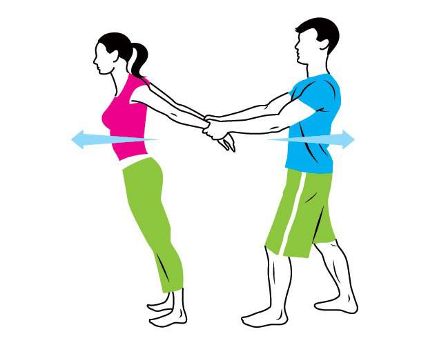 ورزش های کششی عالی برای زن و شوهرها