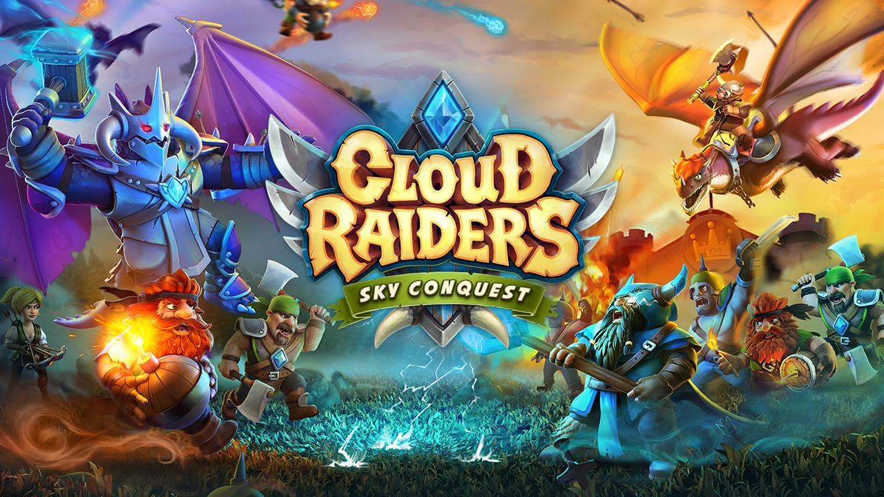 آموزش کامل بازی زیبای استراتژیک Cloud Raiders