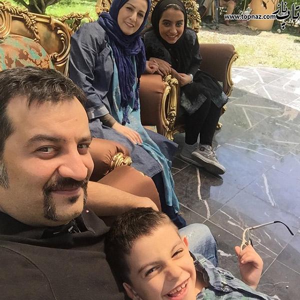 شقایق دهقان و همسرش مهراب قاسمخانی