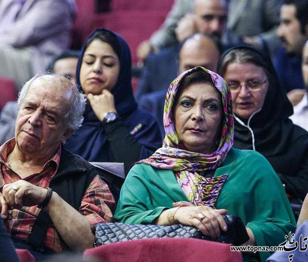 محسن قاشی مرادی و همسرش مهوش وقاری