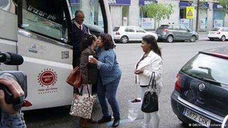 پروژه همسریابی زنان در اتوبوس در اسپانیا!
