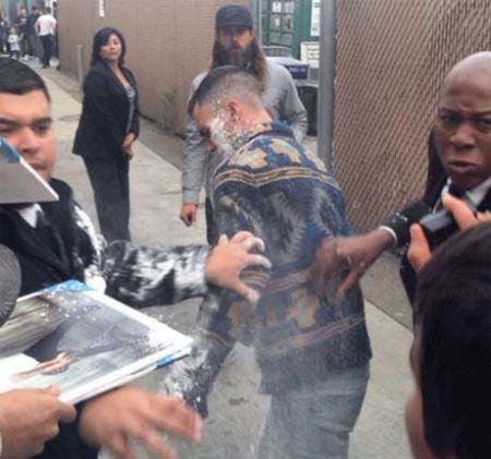 حمله فرد ایرانی به سلبریتی معروف آمریکایی!