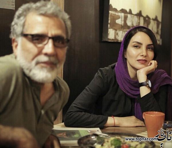 مرجان شیر محمدی و همسرش بهروز افخمی
