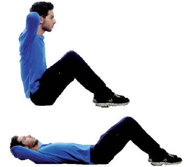 تمرینات ورزشی مخصوص شکم,حرکات مخصوص شکم,آب کردن چربی پهلو