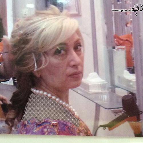 عکس لو رفته از چهره بدون آرایش لیلا فروهر 57 ساله