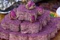 حلوای گل سرخ برای سفره افطار ماه رمضان