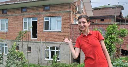 عکس های سوتی مهندسین ترکیه در ساخت یک خانه