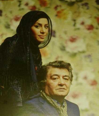 تارا کریمی و همسرش رضا رویگری
