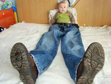 خنده دارترین عکس های کودکان