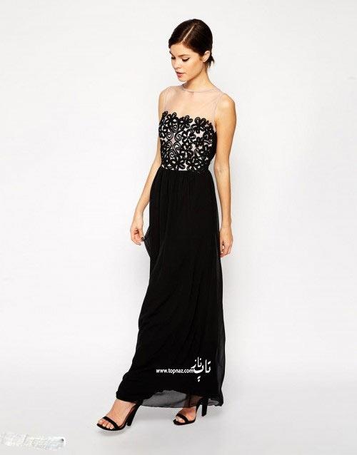 مدل لباس مجلسی دخترانه بلند 94