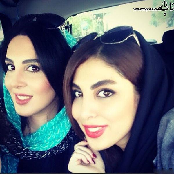 عکس جدید لیلا بلوکات و خواهرش
