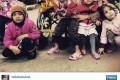 عکس لیلا بلوکات و 7 فرزندش