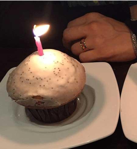 عکس مهناز افشار و کیک تول 38 سالگی
