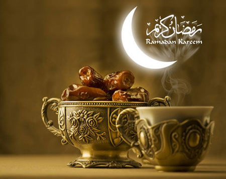 کارت پستال رمضان