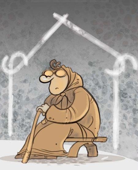 کاریکاتور دختر و پسرهای مجرد