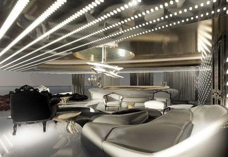 عکس های گران قیمت ترین کشتی تفریحی جهان