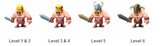 روند تغییرات سربازها و اسپل spell ها در بازی کلش آف کلنز clash of clans