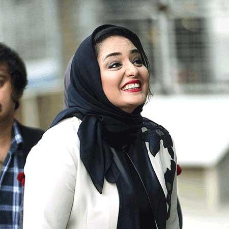 عکس از چهره خنده دار نرگس محمدی بازیگر