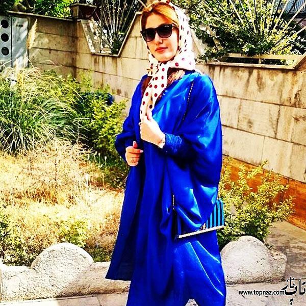 عکس جدید نازلی رجب پور