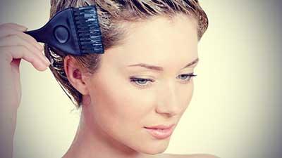 نحوه پاک کردن رنگ مو از روی پوست