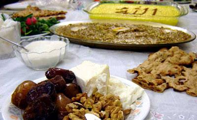 غذای مناسب برای ماه رمضان,غذای مخصوص ماه رمضان,غذای اماده برای ماه رمضان