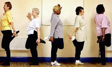 تمرین ورزشی برای افراد سالخورده برای حفظ تعادل